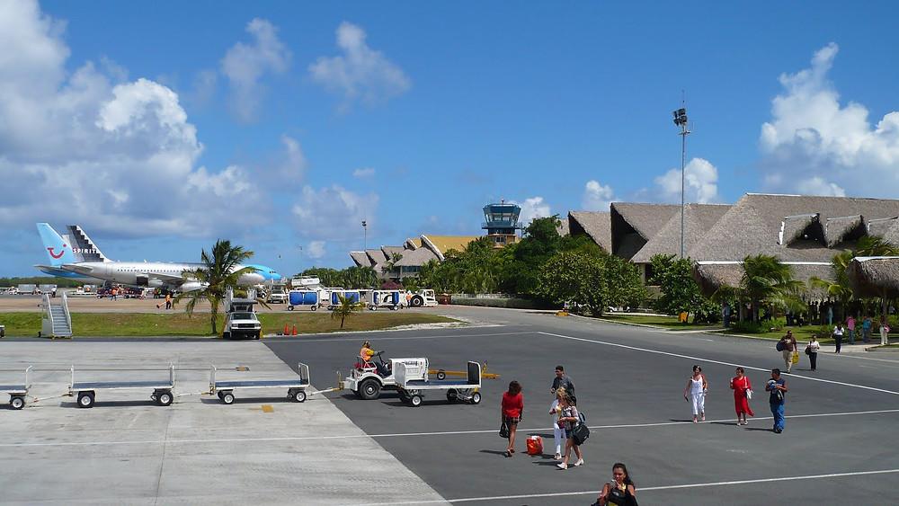 Aeropuerto de Punta Cana, republica Dominicana