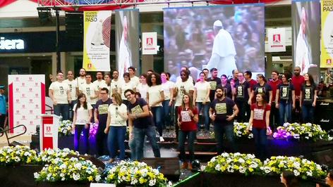 """Presentan la canción """"Demos el Primer Paso"""", himno oficial de la visita del Papa Francisco"""