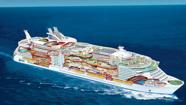 El crucero más avanzado del mundo