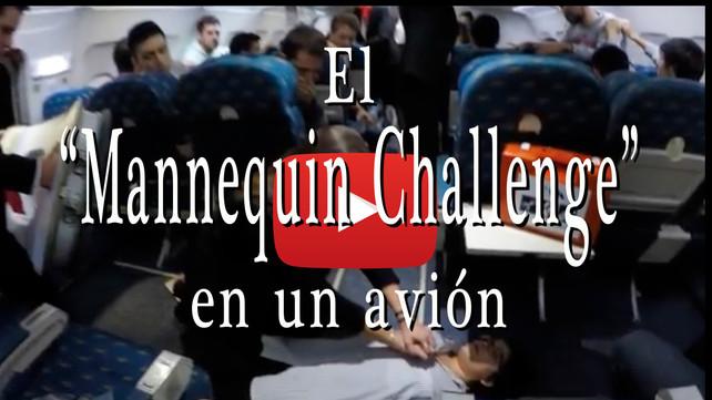 """Un """"Mannequin Challenge"""", !en medio de una emergencia aérea!"""