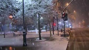 Inusual nevada cubre a Santiago de Chile y cautiva a los santiagueros (video)
