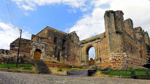 Resultado de imagen para ruinas de san francisco santo domingo