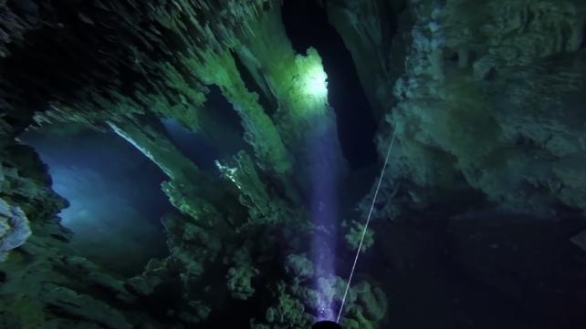 Descubren en México la caverna sumergida más grande del mundo (video)