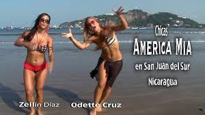Chicas America Mia en San Juan del Sur