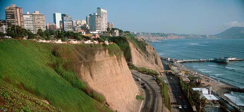 Acantilados de Miraflores, Lima, Perú