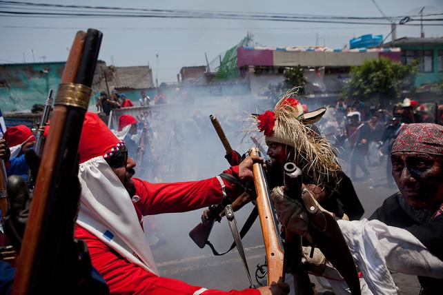 Conmemoran en México la victoria del 5 de mayo contra el ejercito de Napoleón Bonaparte en 1862 (vid