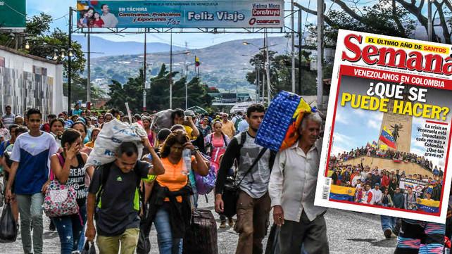 El éxodo de venezolanos a Colombia, la nueva crisis migratoria latinoamericana (video)