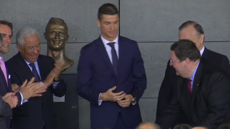 Nombran Aeropuerto de Madeira en Portugal en honor a Cristiano Ronaldo (video)