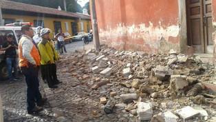 Cuantifican daños por temblor en Guatemala (video)