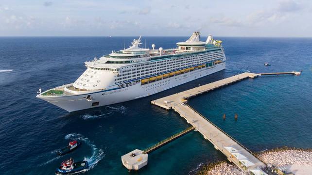 Curacao abre el Muelle de Tula, segundo muelle con capacidad  para cruceros gigantes (video)
