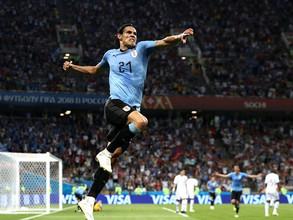 Edison Cavani lleva a Uruguay hasta cuartos de final tras derrotar a Portugal metiendo 2 goles (vide