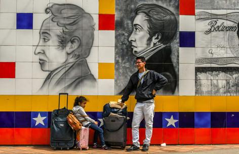 Alcanza condición de crisis humanitaria éxodo de venezolanos a Colombia después de elecciones presid