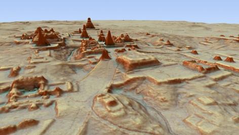 Una revolucionaria tecnología 'desentierra' una megalópolis maya en la selva de Guatemala (v
