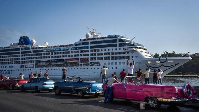 Crece turismo de cruceros a Cuba