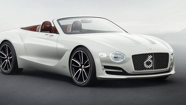 Bentley presenta su primer auto eléctrico en el Auto Show de Génova (video)