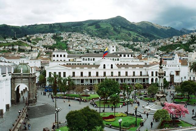 Recorrido en 360º de La Plaza Grande de Quito, Ecuador (video 360)
