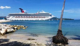 Carnival Cruise Line lleva más de 9 mil cruceristas en una semana a La Romana y Puerto Plata (video)