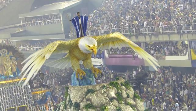 """Escuela de Samba """"Portela"""" se corona ganadora  del Carnaval Rio de Janeiro 2017 (vea el vi"""