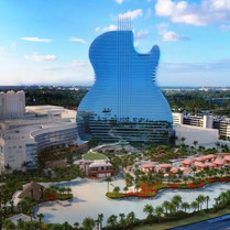 Hard Rock: el primer hotel en forma de guitarra en EEUU
