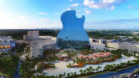 Hard Rock: inauguran el primer hotel en forma de guitarra en EEUU
