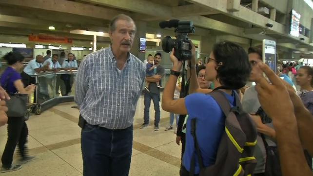 En Caracas ex-presidentes latinoamericanos invitados para supervisar el referendo contra la Asamblea