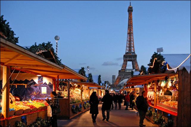 Serie: Navidades alrededor del Mundo. Campos Elíseos, Paris