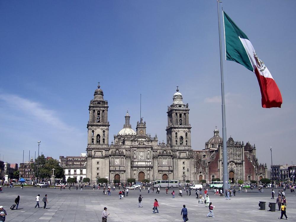 Plaza El Zocalo, Mexico