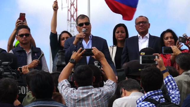 Ex-Presidente Correa fustiga a su ex-aliado y actual Presidente Lenin Moreno (video)