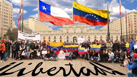 Los venezolanos escapan a Chile en busca de nuevas oportunidades por crisis en su país (video)
