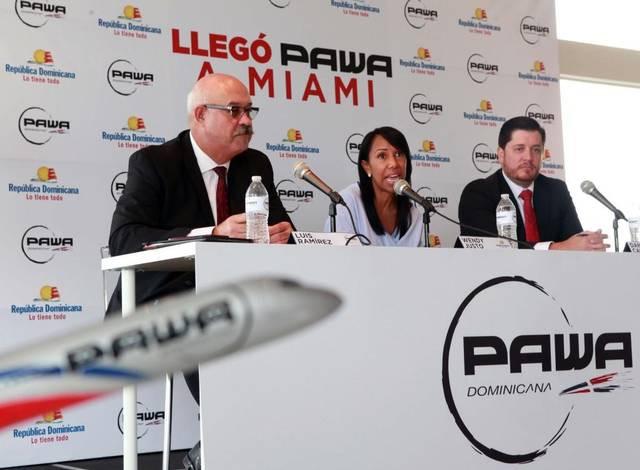 PAWA DOMINICANA volará a Miami