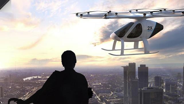 Los taxis voladores ya están siendo probados en los Emiratos Arabes Unidos (video)