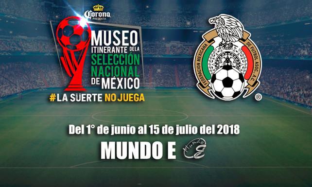 Abren en el D.F. el museo de la Selección Nacional de Fútbol de México (video)