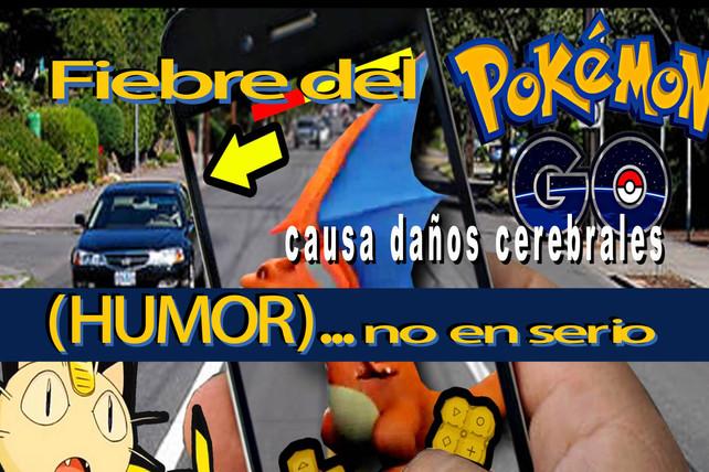 """El """"Pokemon Go"""" causa daño cerebral"""