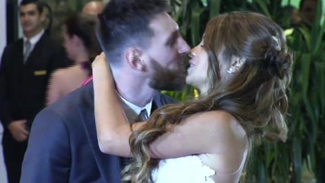 La gran boda de Lionel Messi con Antonela Roccuzzo en Rosario. Las estrellas del futbol invitadas (v