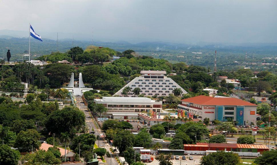 Vista panoramica de Managua, Nicaragua