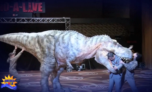 DINO-I-LIVE la película Jurassic Park convertida en realidad