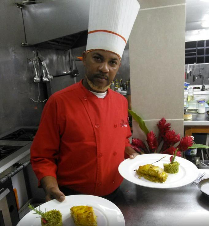 Chef Enrique de Le Chansionners