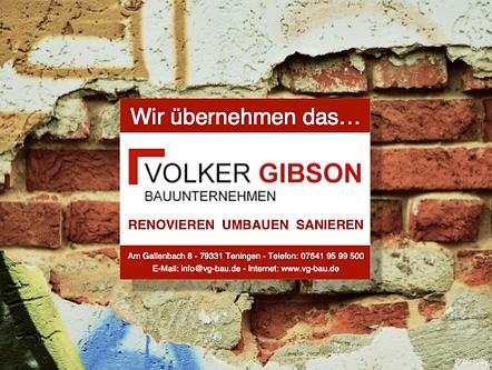 Renovieren Umbauen Sanieren in Emmendingen und Freiburg