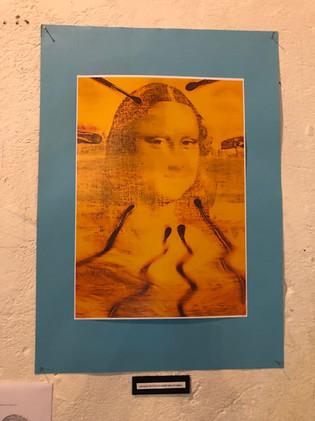Leonard de Vinci a oublié ses pinceaux