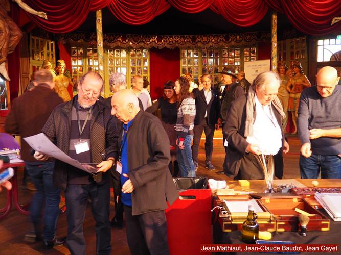 Jean Mathiaut, Jean-Caude Baudot, Jean Gayet