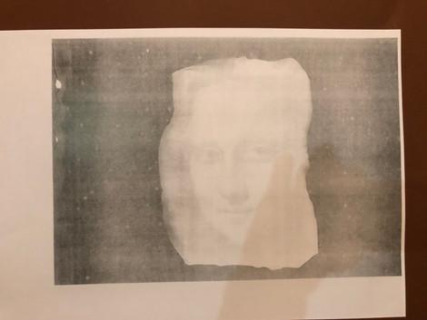 le suaire de Mona Lisa