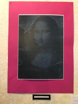 Mona Lisa fait un clin d'oeil à ses admirateurs
