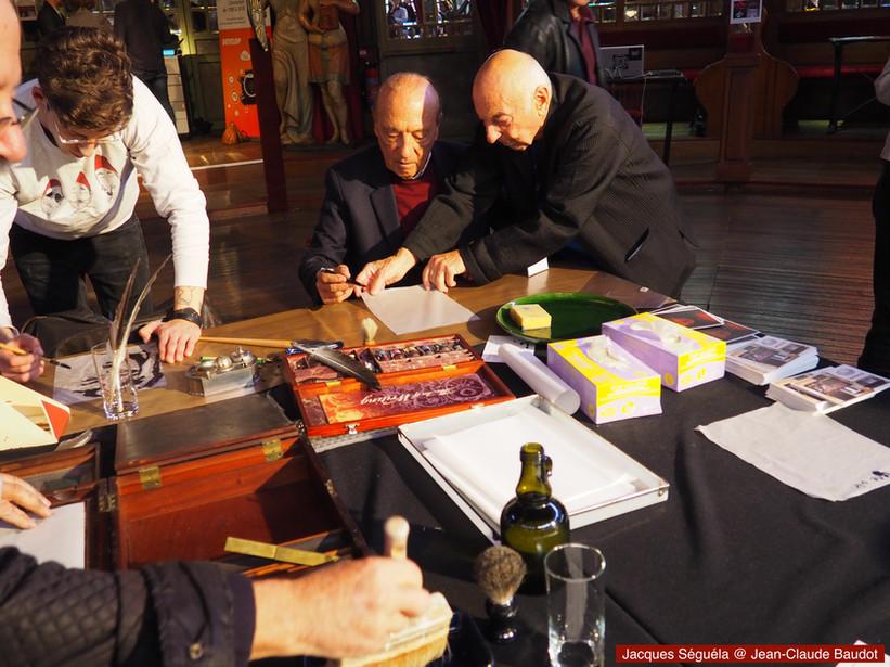 Jacques Séguéla et Jean-Claude Baudot