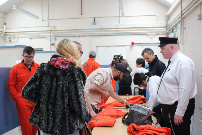inmate processing immersive events
