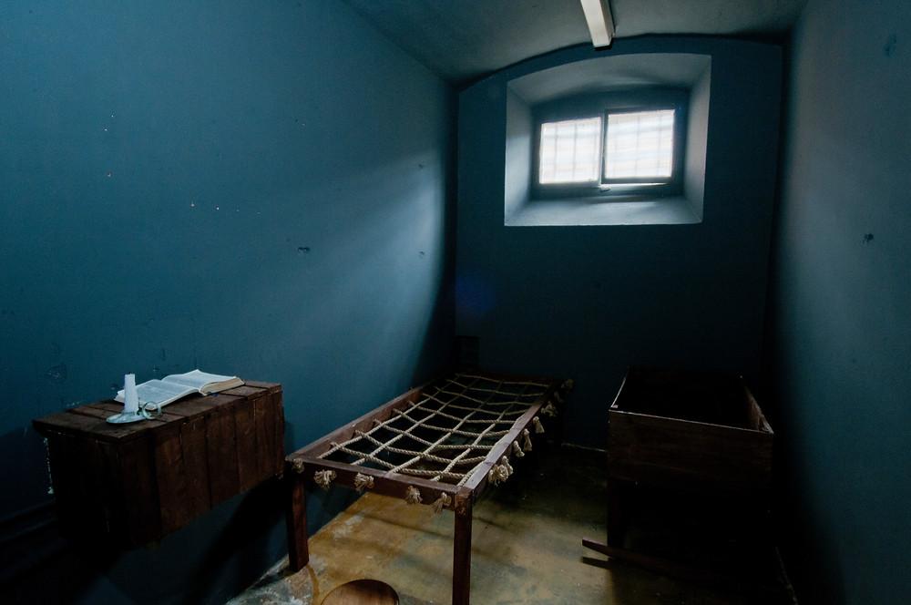 Victorian Prison Cell