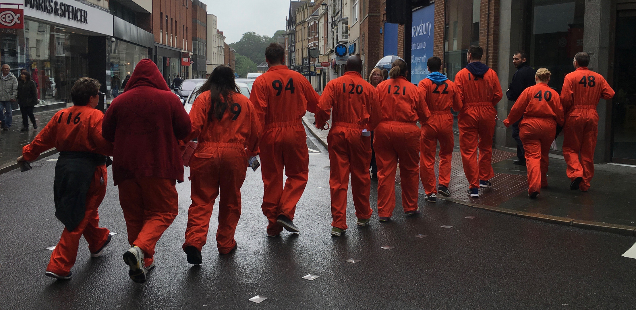 inmate chain gang immersive events