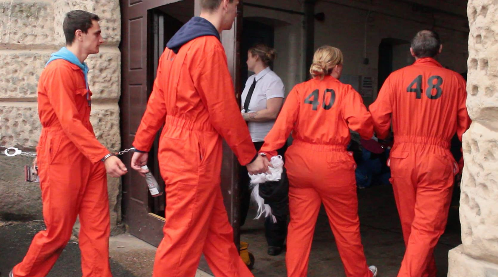 Escapees caught immersive events