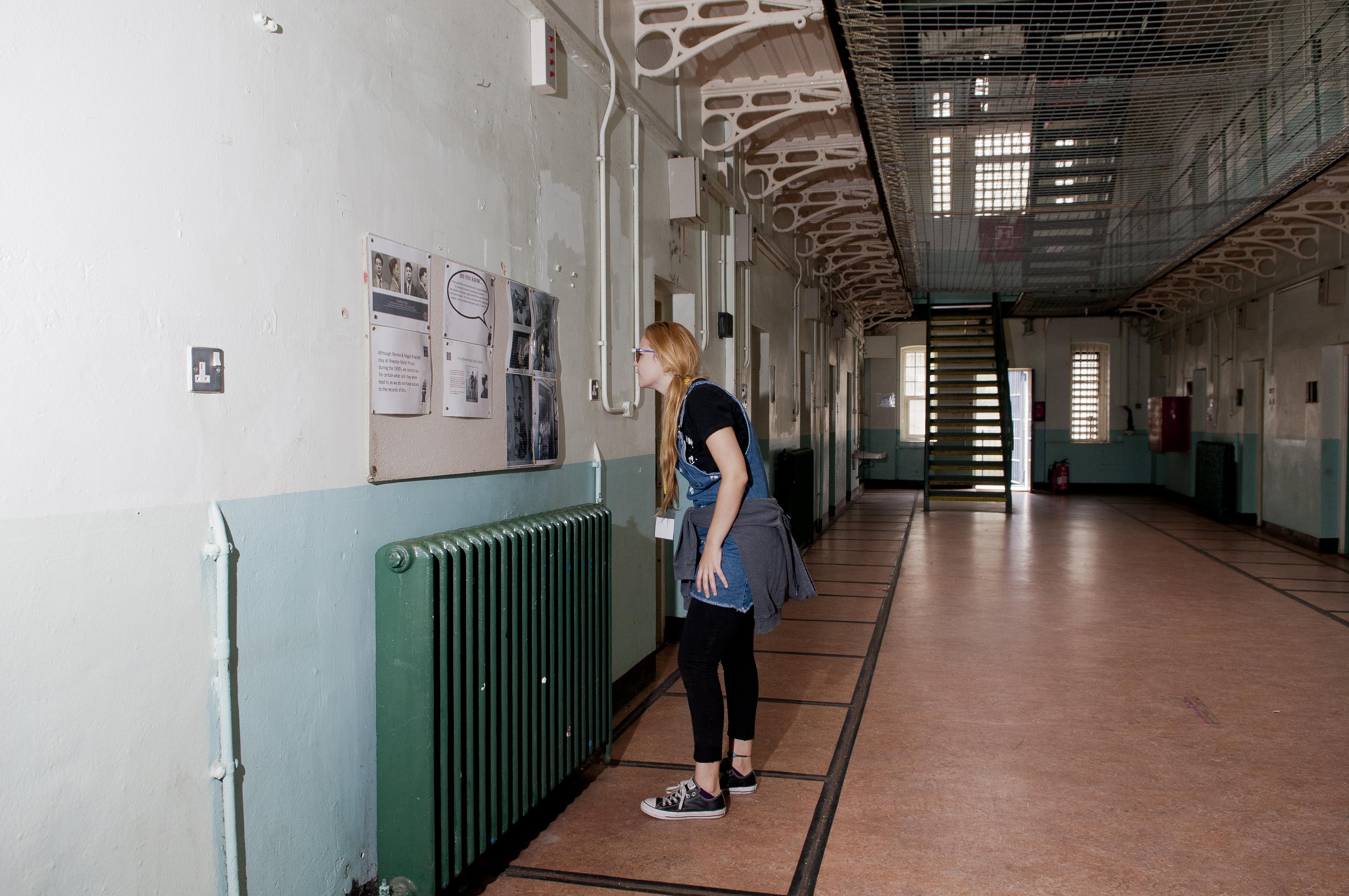 at Shepton Mallet Prison