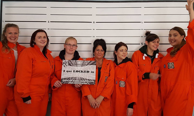hens locked in immersive events