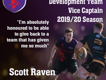 INTRODUCING OUR 2019/20 DEVELOPMENT VICE CAPTAIN